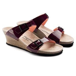 Birkenstock Papillio Wedge Sandals Sz 42 (12)